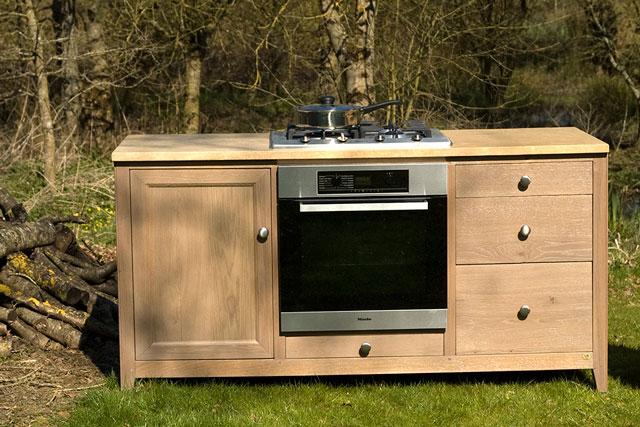 Meuble cuisine ind pendant mobilier design d coration d 39 int rieur - Meuble cuisine independant bois ...