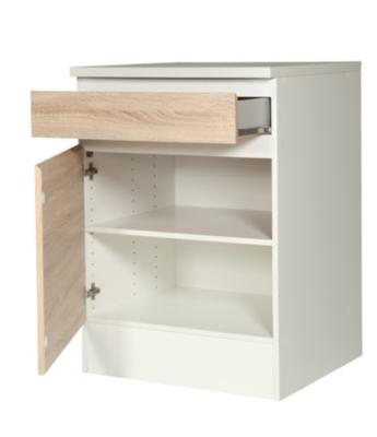 Meuble bas cuisine 55 cm largeur mobilier design for Meuble bas cuisine 40 cm largeur