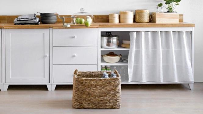 meuble de cuisine avec rideau mobilier design d coration d 39 int rieur. Black Bedroom Furniture Sets. Home Design Ideas