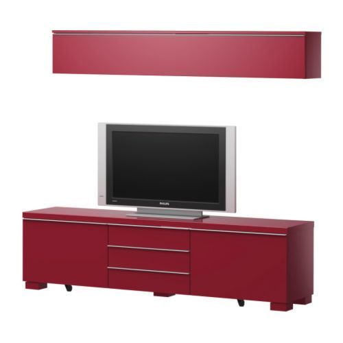 meuble tv ikea rouge mobilier design d coration d 39 int rieur. Black Bedroom Furniture Sets. Home Design Ideas