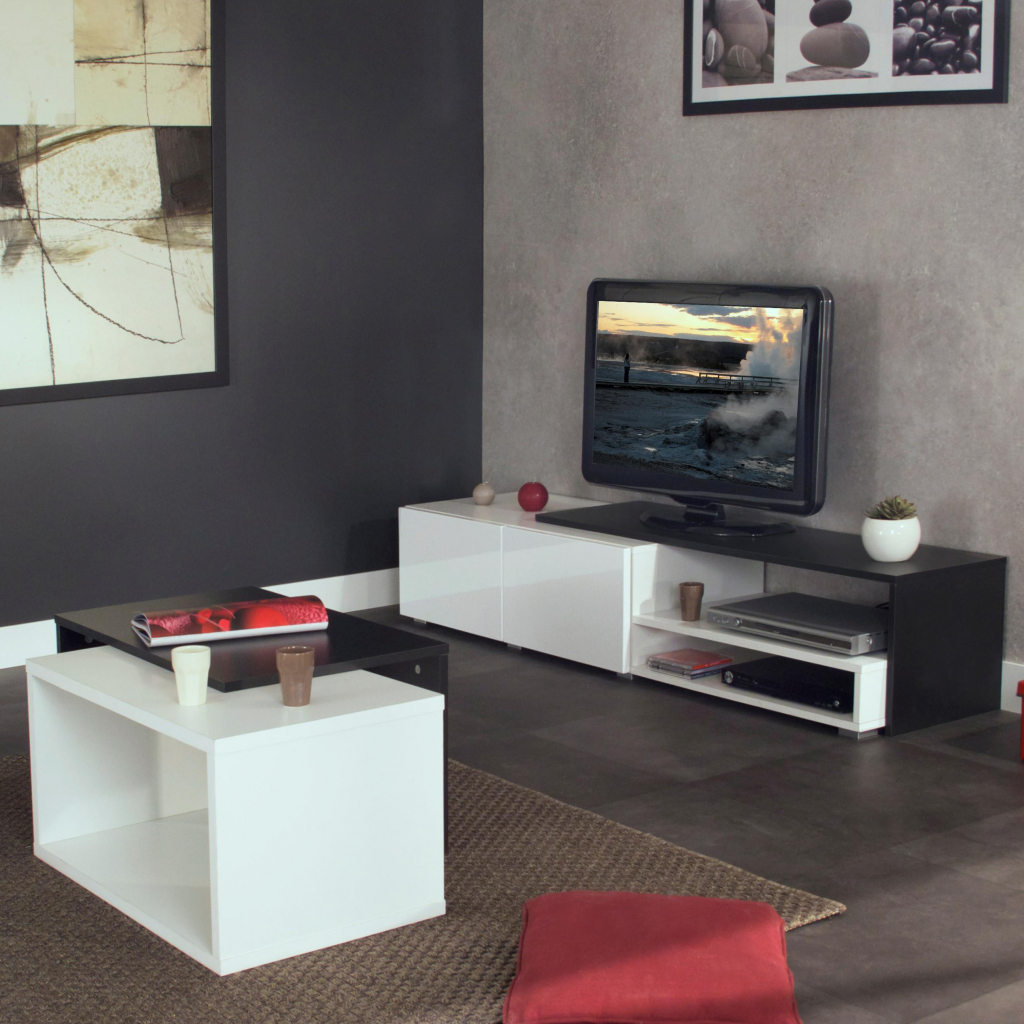 meubles tv conforama cheap modernes fr luxushuser petit. Black Bedroom Furniture Sets. Home Design Ideas