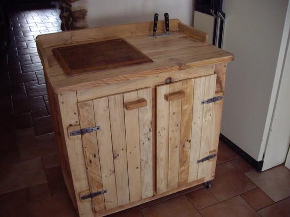 Meuble de cuisine en palette mobilier design d coration for Meuble tv zodio