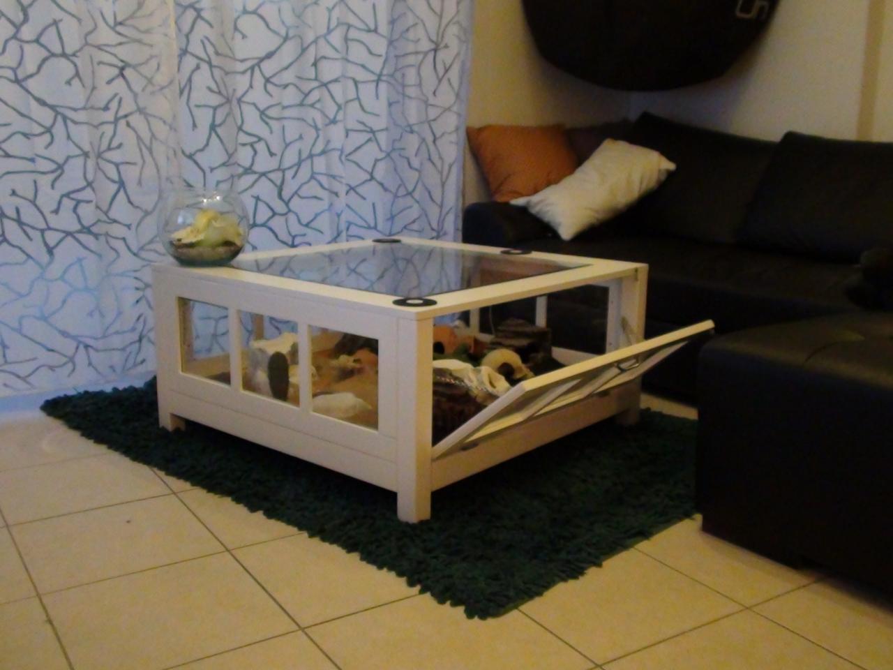 Table Basse Vivarium Mobilier Design Decoration D Interieur