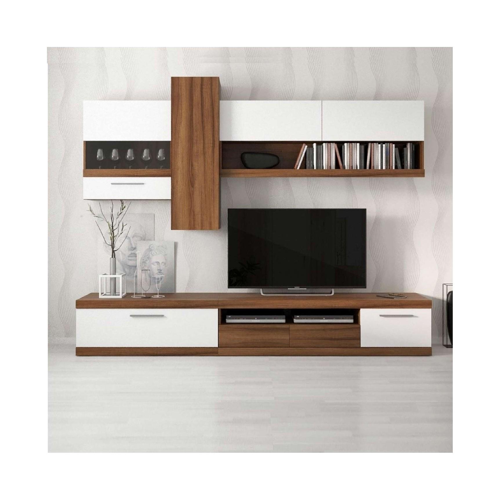 Meuble tv led mobilier design d coration d 39 int rieur for Meuble interieur design