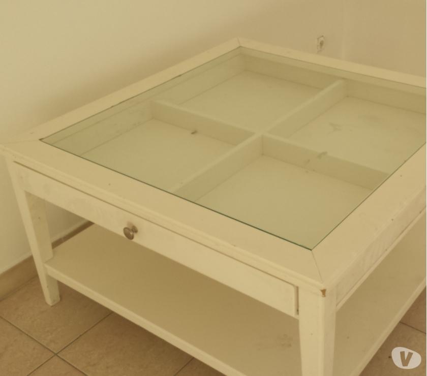 Table Basse Ikea Blanche Verre Mobilier Design Décoration