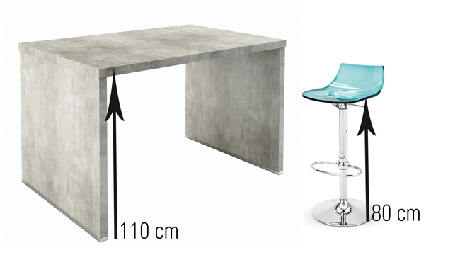 tabouret de bar 120 cm mobilier design d coration d 39 int rieur. Black Bedroom Furniture Sets. Home Design Ideas