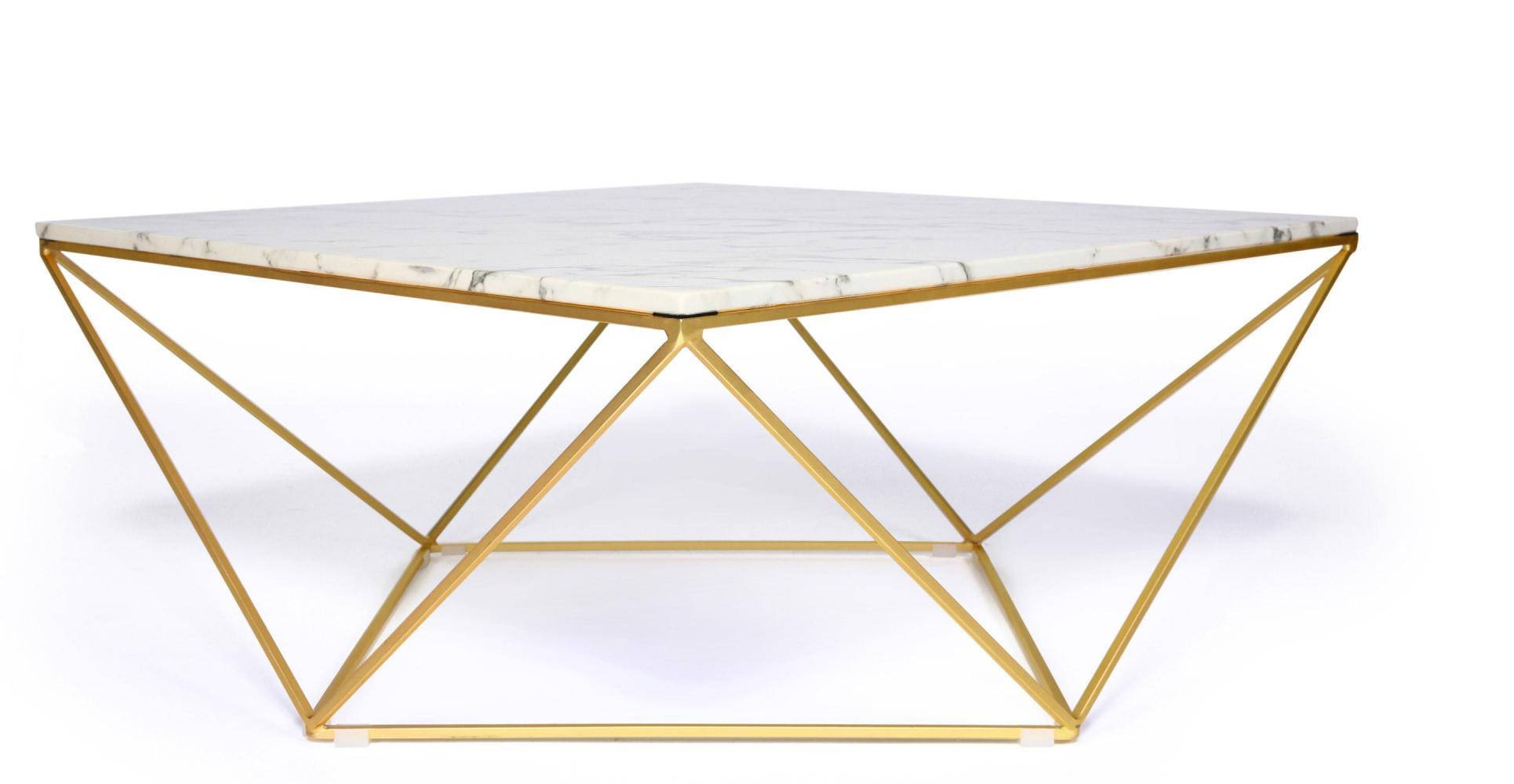 Table basse en marbre mobilier design d coration d 39 int rieur - Nettoyer une table en marbre ...