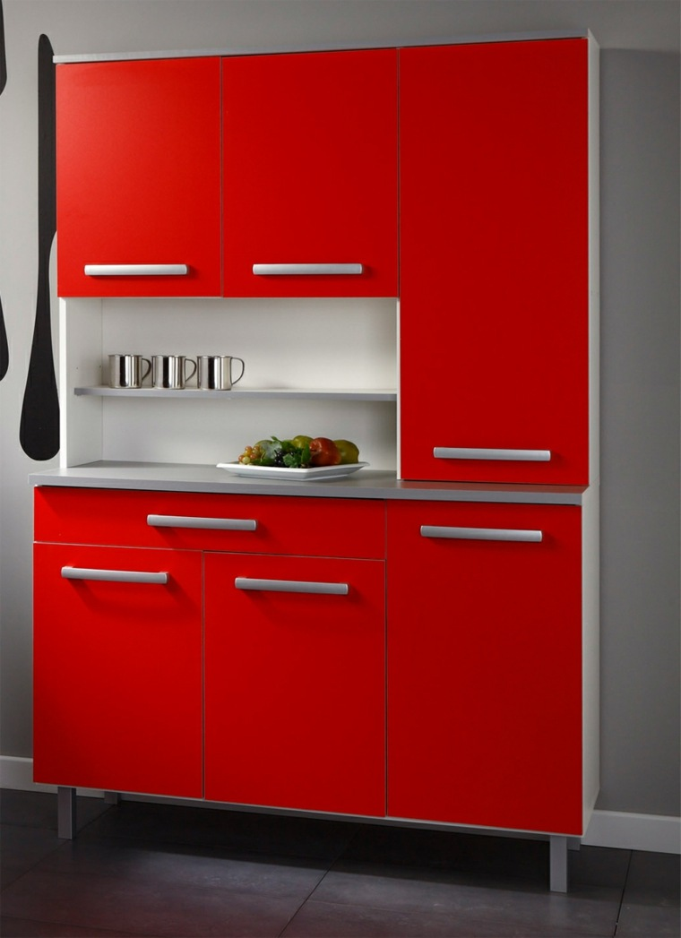 meuble de cuisine rouge ikea mobilier design d coration. Black Bedroom Furniture Sets. Home Design Ideas