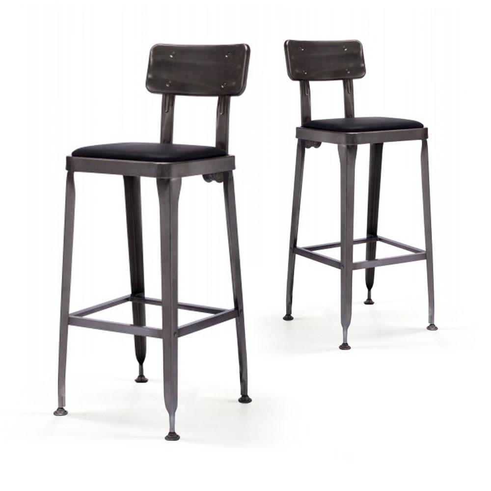 Dimension d 39 un tabouret de bar mobilier design for Recherche tabourets cuisine