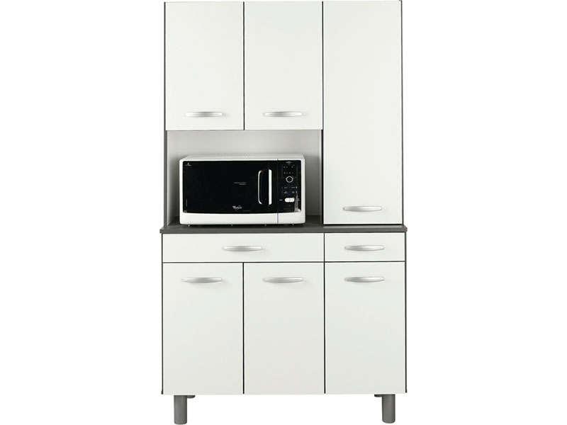 meuble cuisine 3 portes perfect buffet cuisine blanc. Black Bedroom Furniture Sets. Home Design Ideas