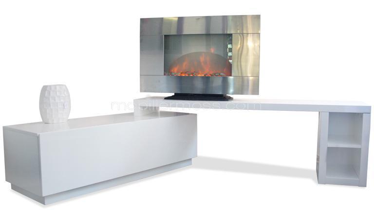 meuble tv angle moderne mobilier design d coration d. Black Bedroom Furniture Sets. Home Design Ideas
