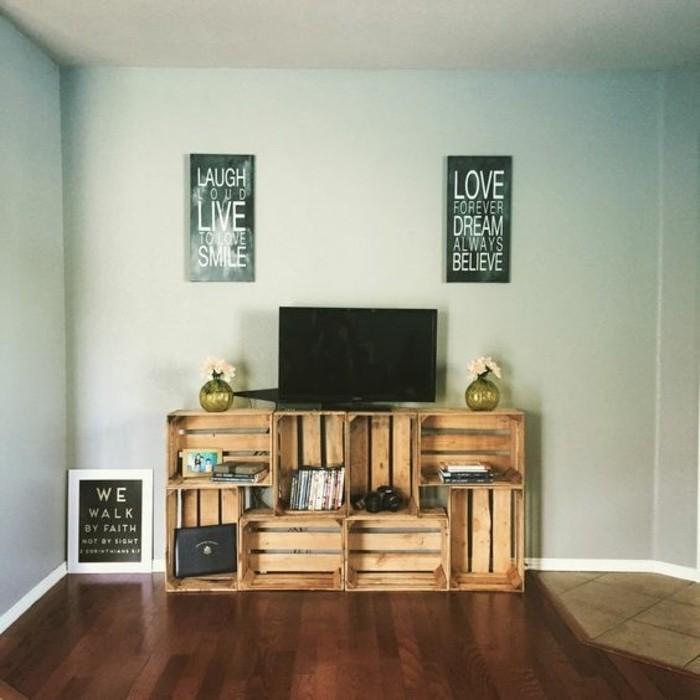 comment faire meuble tv en palette mobilier design d coration d 39 int rieur. Black Bedroom Furniture Sets. Home Design Ideas