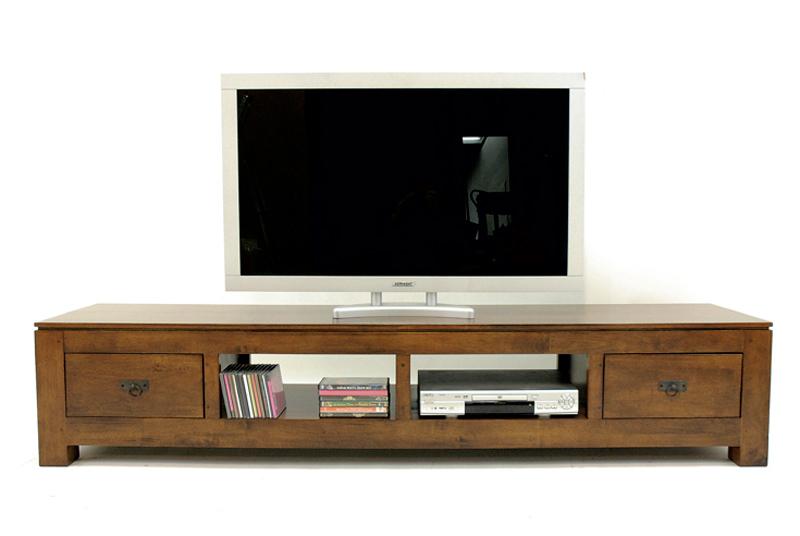 Meuble de tv bois Mobilier design décoration d intérieur