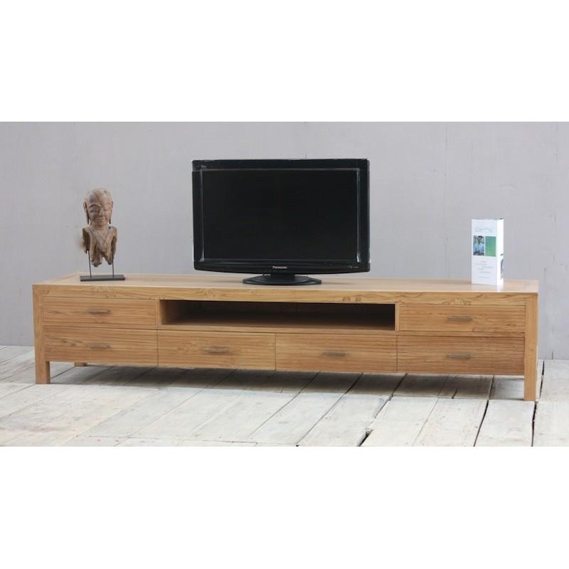 Meuble tv en teck mobilier design d coration d 39 int rieur for Meuble interieur design