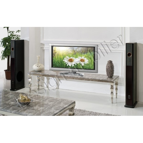 Meuble tv luxe mobilier design d coration d 39 int rieur for Meuble tv luxe
