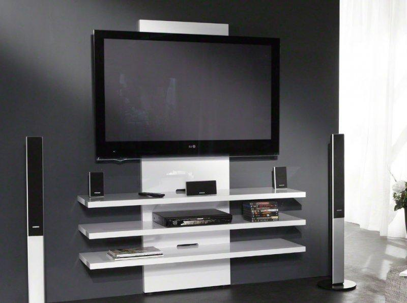 meuble tv accrocher au mur mobilier design d coration. Black Bedroom Furniture Sets. Home Design Ideas