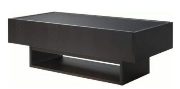 Table basse ikea noir