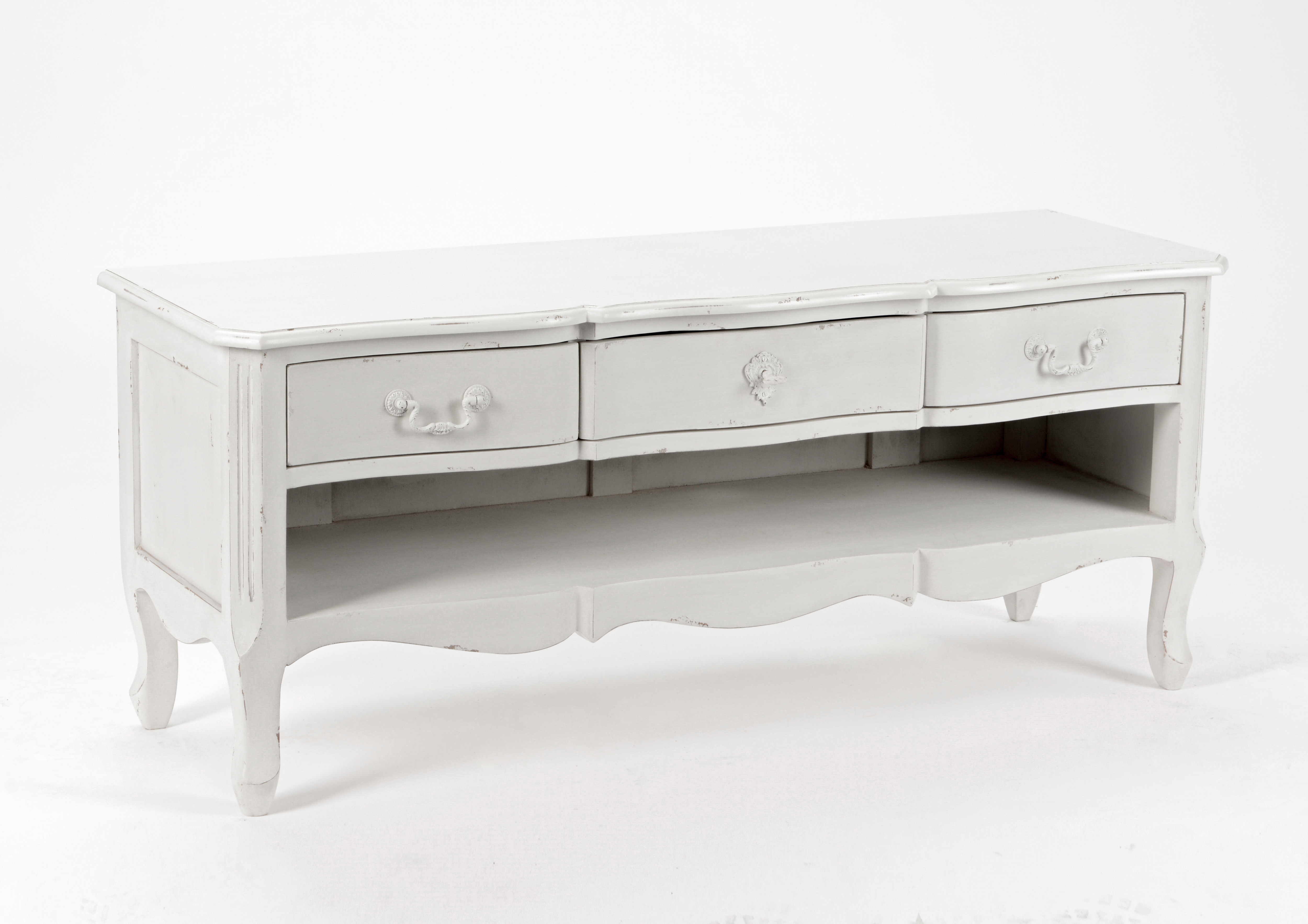 Meuble Tv Bois Blanc Pas Cher Mobilier Design D Coration D  # Meuble Tv Blanc Photo