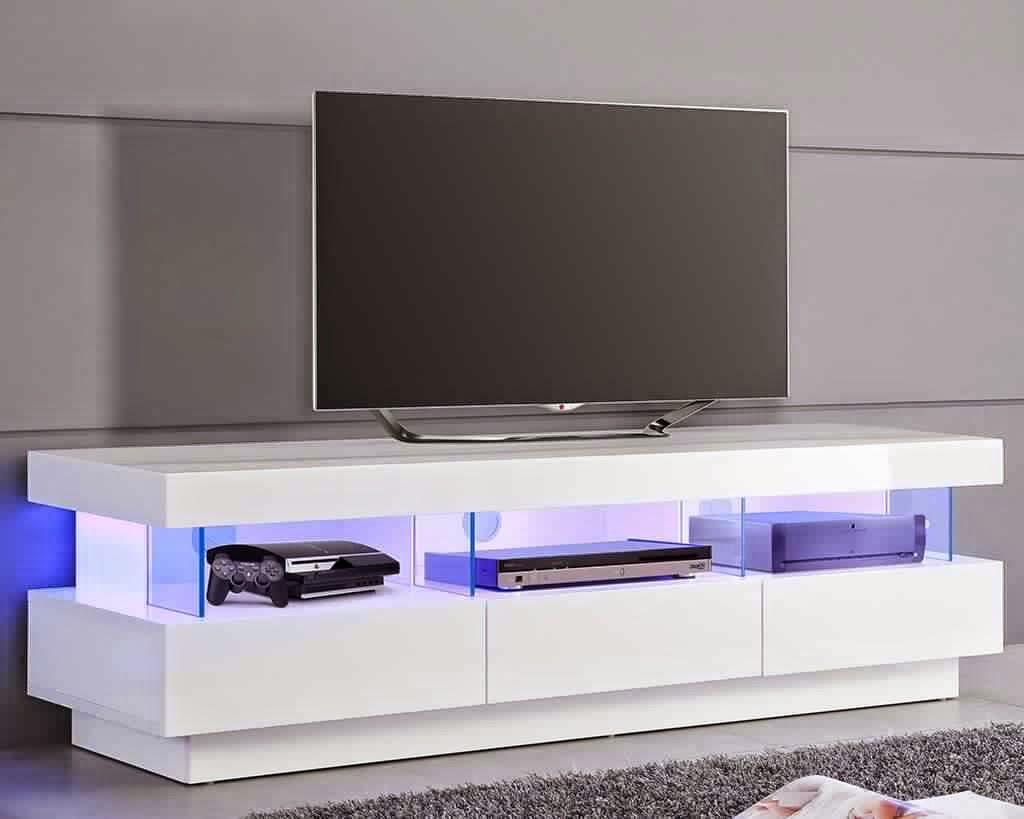 Meuble Tv Avec Rangement Mobilier Design Décoration Dintérieur