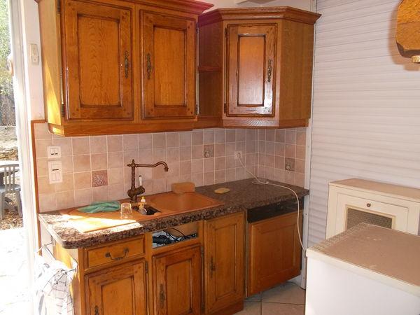 meuble de cuisine chene mobilier design d coration d 39 int rieur. Black Bedroom Furniture Sets. Home Design Ideas