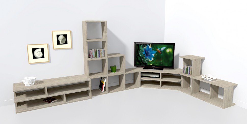 meuble bas tv angle mobilier design d coration d 39 int rieur. Black Bedroom Furniture Sets. Home Design Ideas