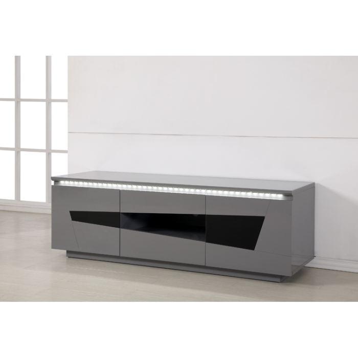 meuble de tv gris mobilier design d coration d 39 int rieur. Black Bedroom Furniture Sets. Home Design Ideas