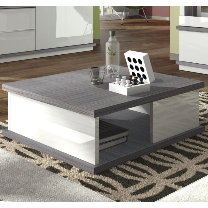 table basse grise et blanche mobilier design d coration. Black Bedroom Furniture Sets. Home Design Ideas