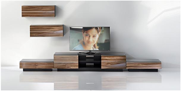 quelle couleur meuble tv - Meuble Tv Bas Et Long Design
