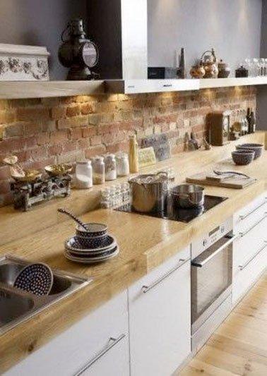 meuble de cuisine en brique mobilier design d coration d 39 int rieur. Black Bedroom Furniture Sets. Home Design Ideas