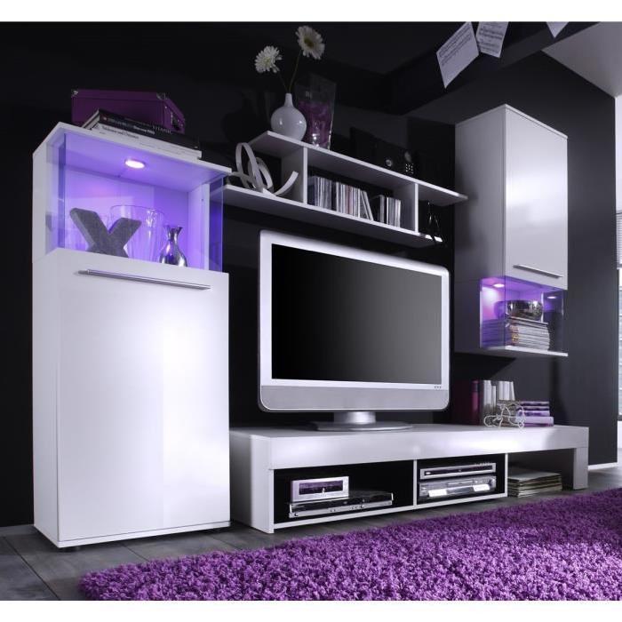 Cdiscount meuble tv blanc et gris mobilier design d coration d 39 int rieur - Meuble tv mural cdiscount ...