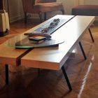Table basse ikea hack