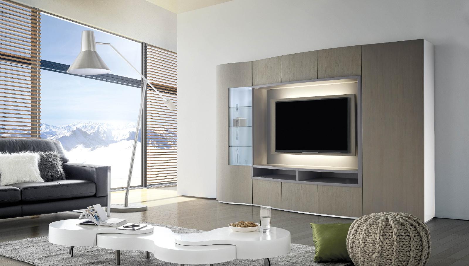 ensemble meuble tv xxl mobilier design d coration d 39 int rieur. Black Bedroom Furniture Sets. Home Design Ideas