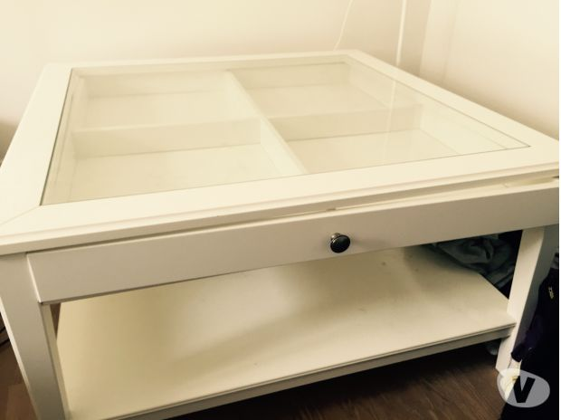 Table Basse Ikea Blanche Vitree Mobilier Design