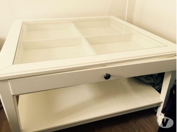 Table Basse Ikea Blanche Vitrée Mobilier Design