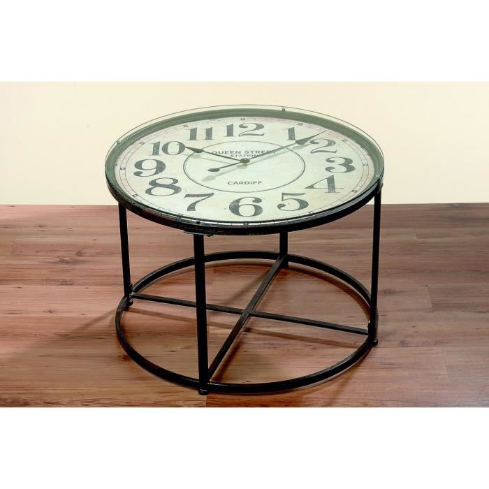 table basse horloge mobilier design d coration d 39 int rieur. Black Bedroom Furniture Sets. Home Design Ideas