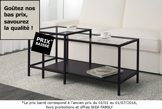 Table basse industrielle ikea