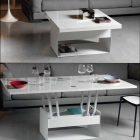 Table basse qui se transforme en table haute