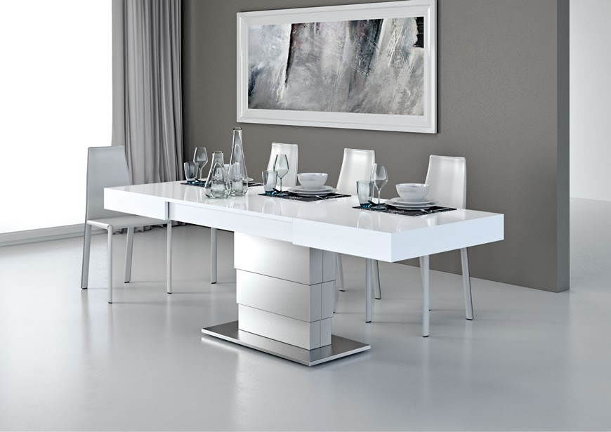 Table Basse Relevable Extensible Mobilier Design