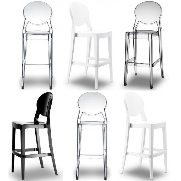 tabouret de cuisine en plexi mobilier design d coration. Black Bedroom Furniture Sets. Home Design Ideas