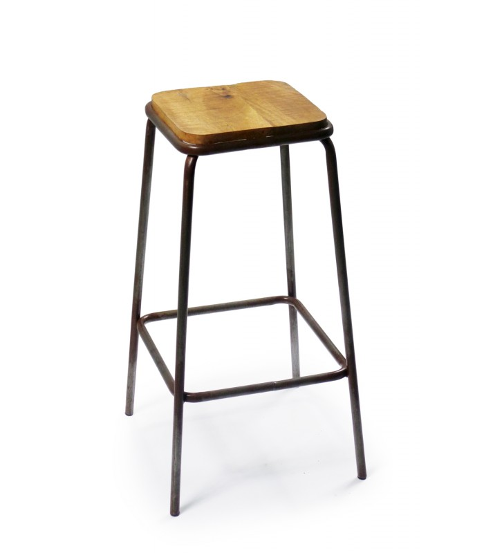 tabouret de bar en solde chaise de bar olympe en acier. Black Bedroom Furniture Sets. Home Design Ideas