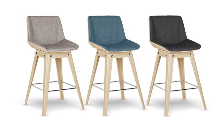 Tabouret de bar hauteur assise 85 cm mobilier design - Tabouret de bar hauteur 60 cm ...