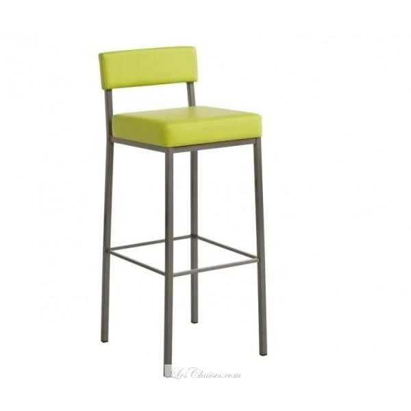 Chaise de bar rouge Mobilier design décoration d intérieur