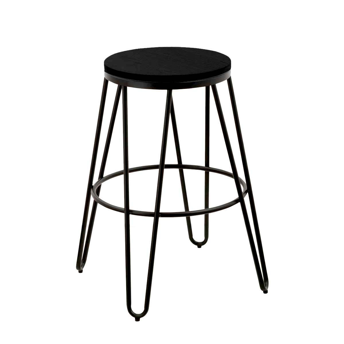 tabouret de bar xavier pauchard mobilier design. Black Bedroom Furniture Sets. Home Design Ideas