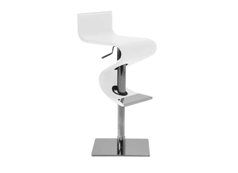 Tabouret de bar blanc design