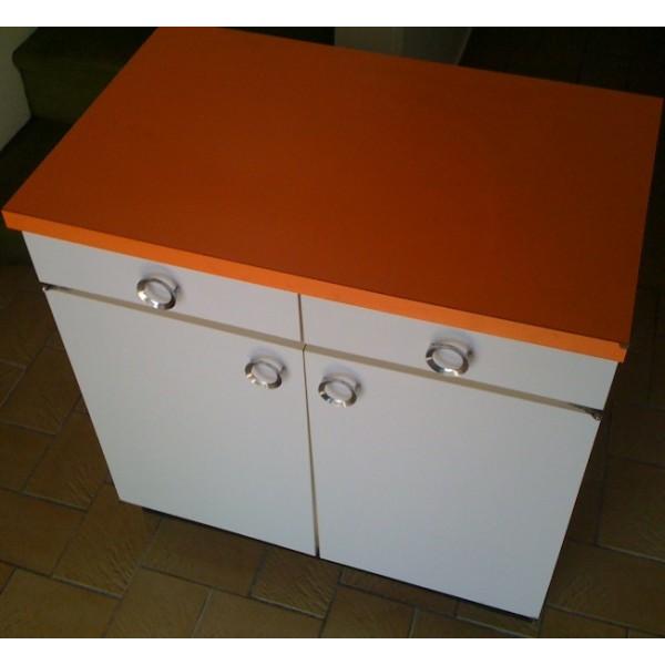 meuble de cuisine orange mobilier design d coration d 39 int rieur. Black Bedroom Furniture Sets. Home Design Ideas