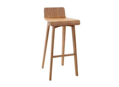 Chaise de bar bois