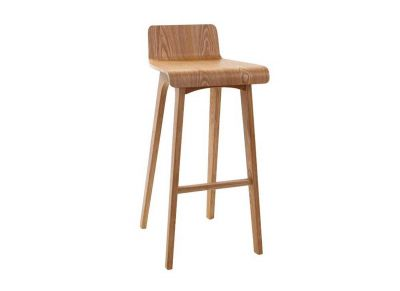 Chaise de bar en bois