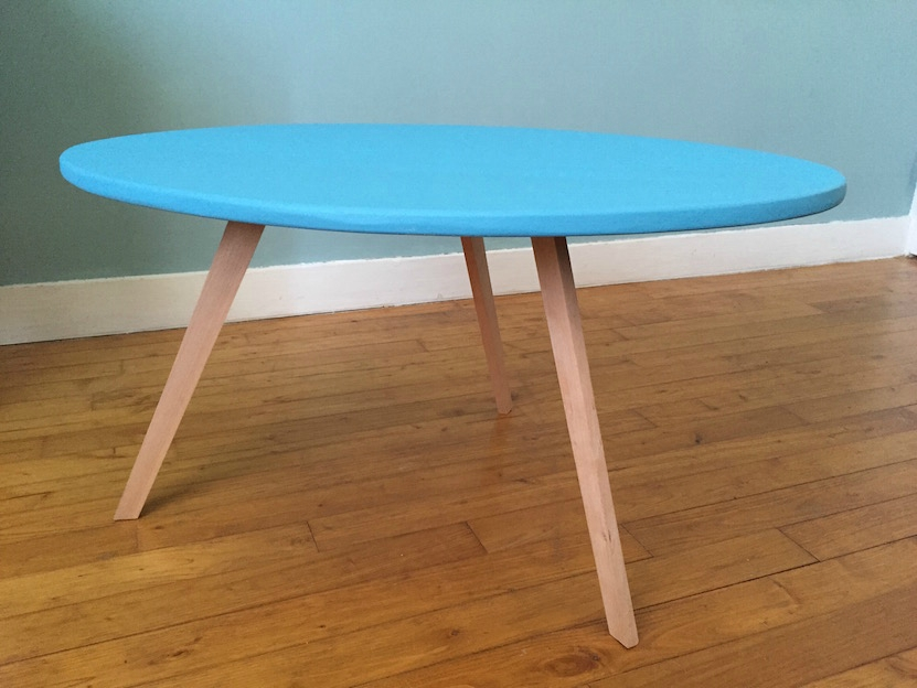 Diy table basse scandinave