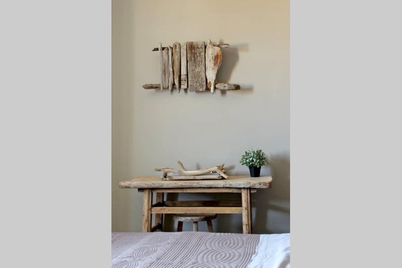 Fabriquer une table basse en bois flotté