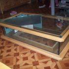 Table basse aquarium aquatlantis occasion